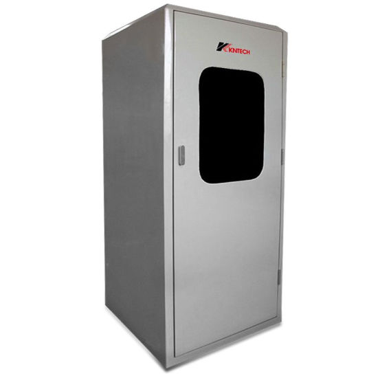 China Promotion Power Plant Booth Acoustic Hoods Telephone Kiosk