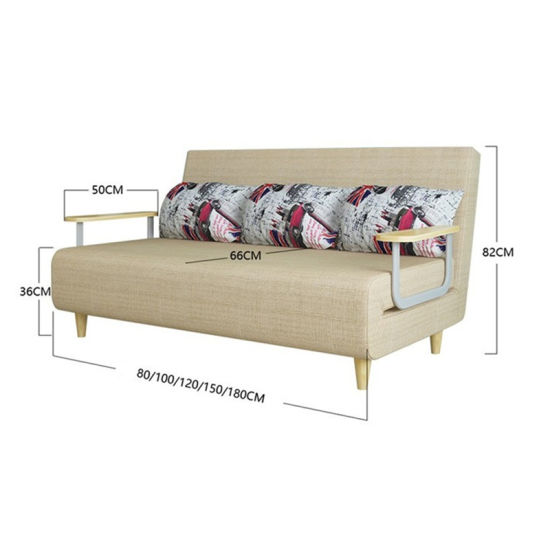 Affordable Chinese Furniture Modern Design Futon Sofa Cum Bed