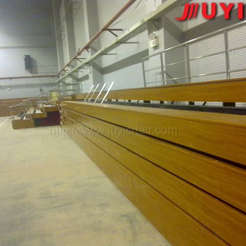 China Supplier Fire-Resistant Wood Folding Stadium Bleachers Seats pictures & photos