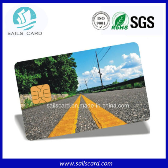 High Quanlity Memory Contact IC Card pictures & photos