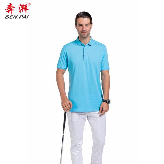 Wholesale Men Cotton Polyester Polo Shirt