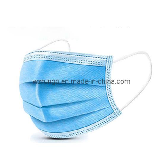 Non Medical Filter Melt-Blown Fabric Protective Disposable Face Mask