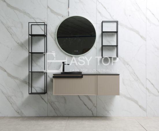 in Stock European New Design Modern Style Wall Mount Bathroom Vanity Cabinet