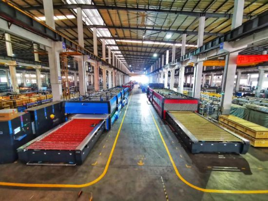 Southtech Horizontal Roller Hearth Energy Saving High Efficient Double Chamber Toughening Glass Machine with Vortech Convection System