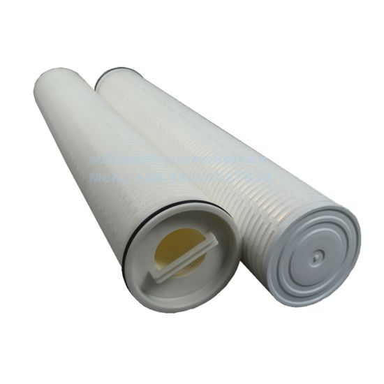 Large Scale PP Membrane Pleated Cartridge Filter Element High Flow Water Filter for RO System