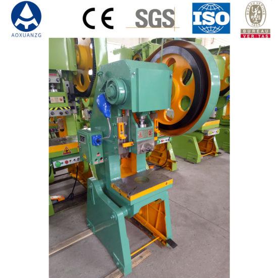 Single Crank Mechanical Stamping Power Press for Making Metal Parts Punching Power Press Machine