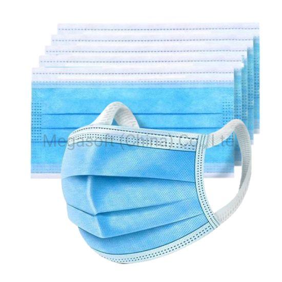 Disposable Melt-Blown Bfe95% Ce Fad Breathable Earloop Medical Mask Fujian