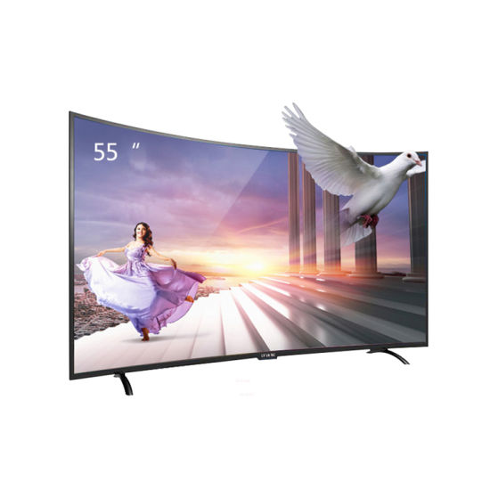 Short Delivery Time TV Television 4K LED Smart Curved TV