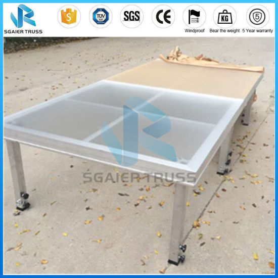 China Useful Safety Portable Cheap Wedding Stage Backdrop