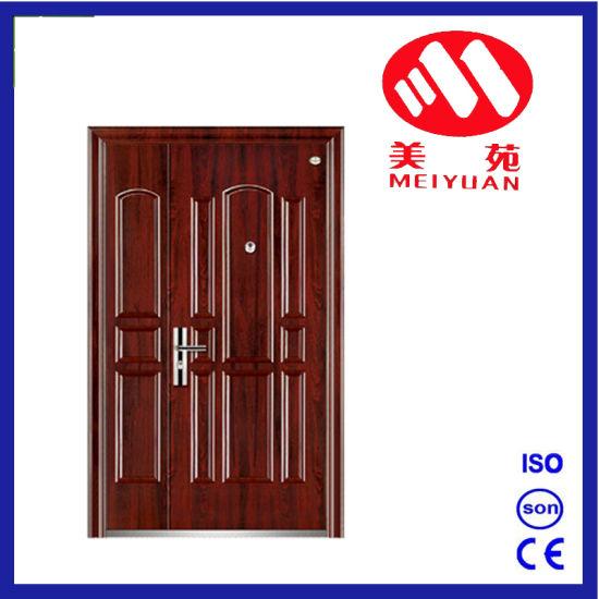 2017 Security Steel Exterior Single Door Son-Mother Door  sc 1 st  Zhejiang Haojun Industry u0026 Trade Co. Ltd. & China 2017 Security Steel Exterior Single Door Son-Mother Door ...