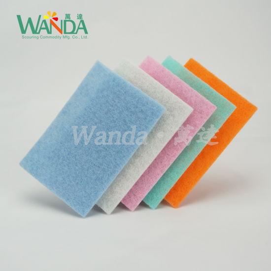 Colorful Dishes Washing Pad Kitchen Cleaning Pads Scouring Pads pictures & photos