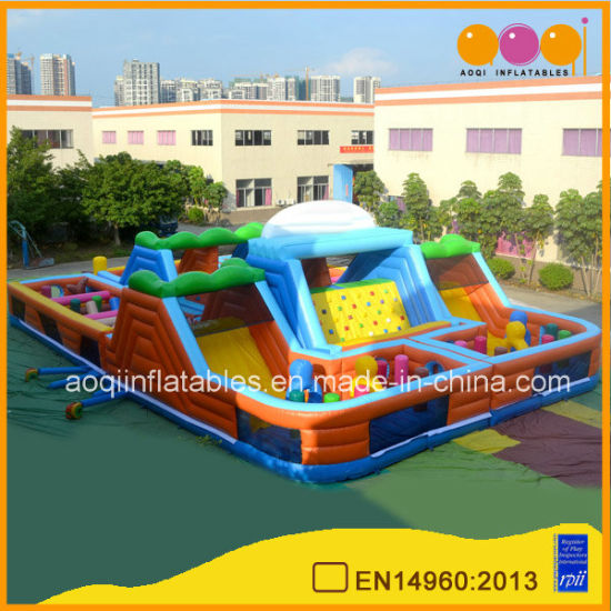 Big Kid Inflatable Toys Game Inflatable Obstacle Course (AQ01431 1)