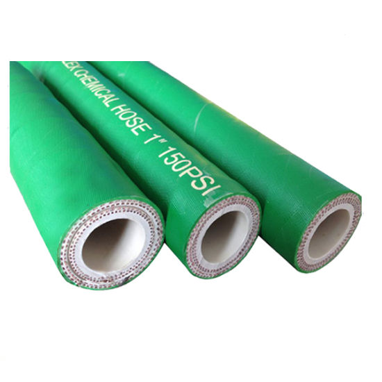 Green Flex Rubber Textile Reinforced Duct Chemical Transfer Hose pictures & photos