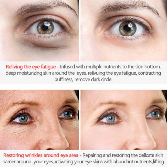 OEM Popular in South Korea Six Peptides Eye Cream Dilute Dark Circles Eye  Bags Wrinkles Moisturize