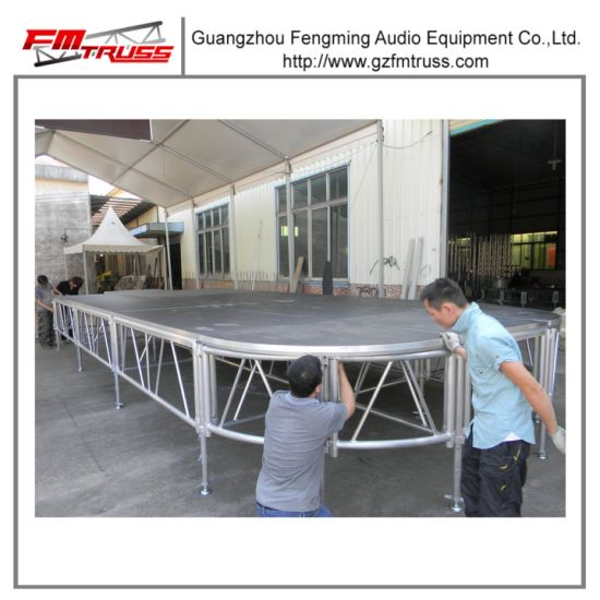 Outdoor Fashion Show Modular Aluminum Stage pictures & photos