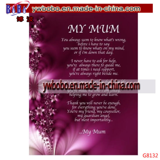 Mum Poem Birthday Mothers Day Christmas Gift Present G8132 Pictures Photos