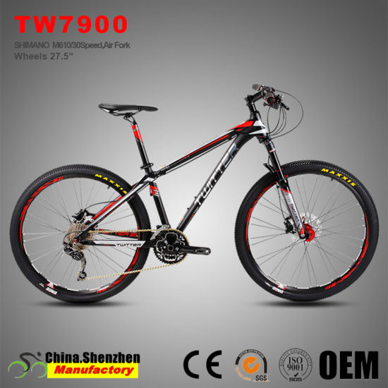 High-End 27.5er Air Fork Hydraulic Brake Xc MTB Mountain Bike