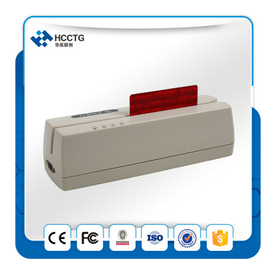 3 Track Msr206 USB Mini Magnetic Stripe Card Reader Writer Hcc206u pictures & photos