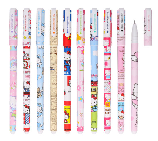 Wholesale in Stock New Gel Ink Pen Kawaii Office Supplies pictures & photos
