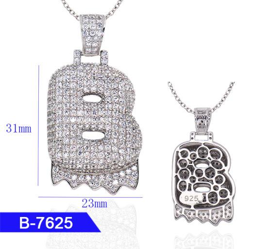 China Wholesale Hip Hop Men′s Fashion Custom Jewelry 925