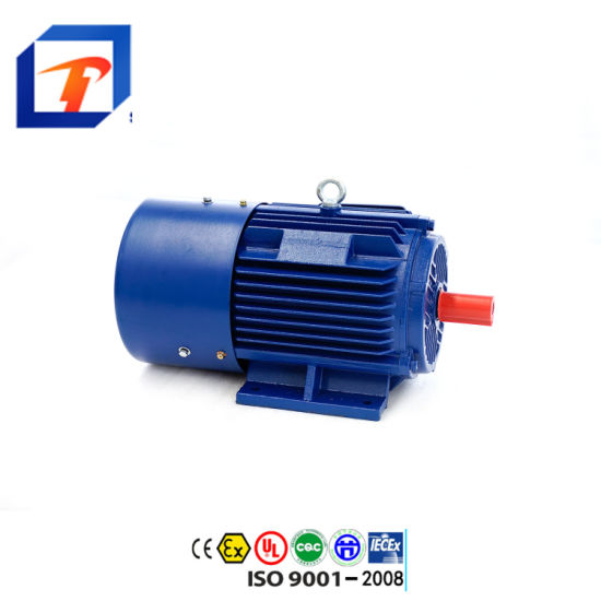 Ye2-160m2-2-15kw 20HP Cast Iron Ie2 Three Phase AC Induction Electric Motor