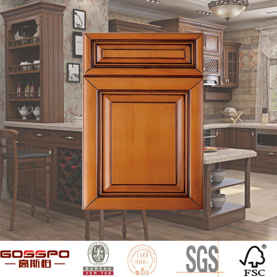 Mahogany Wooden Kitchen Cabinet Doors Manufacturers (GSP5-019)