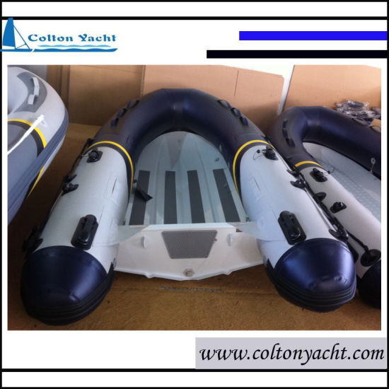 Rigid Inflatable Boat with Aluminum Hull for Sale