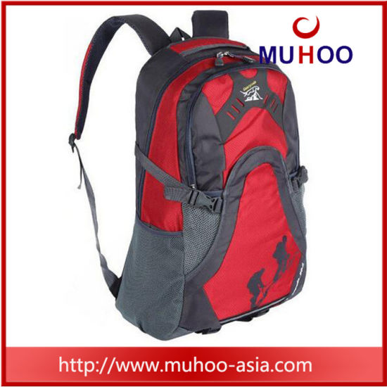 Red Waterproof Travel School Laptop Sports Bag Hiking Backpack pictures    photos 1c8da63ba5056