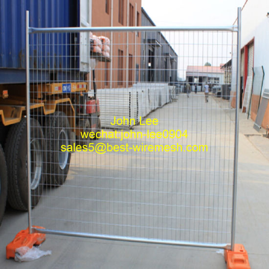 Powder Spraying Temporary Fence pictures & photos