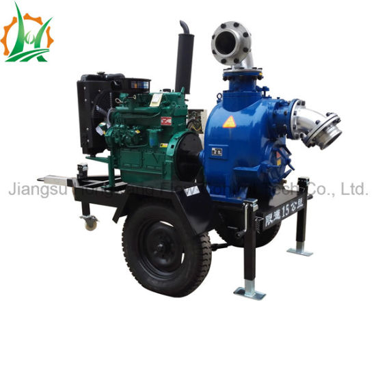Raincover Diesel Self-Priming Sewage Centrifugal Water Pump pictures & photos
