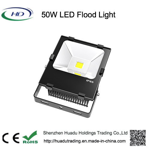 Outdoor Waterproof IP65 5750lm 50W COB LED Flood Light Lamp pictures & photos