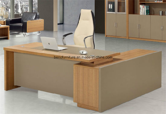 Modern Wooden Furniture Boss Executive Office Table (CB 701)