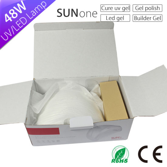 48W Nail Lamp Sunone Double Wave Nail LED UV Lamp pictures & photos