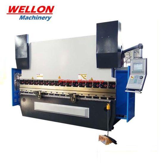 CNC Hydraulic Press Brake Machine (WE67K) CNC Electro-Hydraulic Synchronous Press Brake