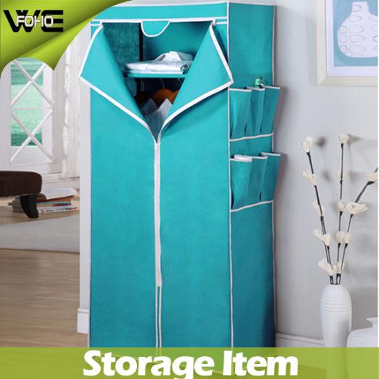 Emble Fabric Storage Cabinet Folding Useful Bedroom Wardrobe