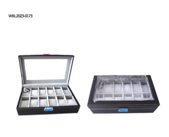 Luxury Watch Cosmetic Leather Box/Watch Box pictures & photos