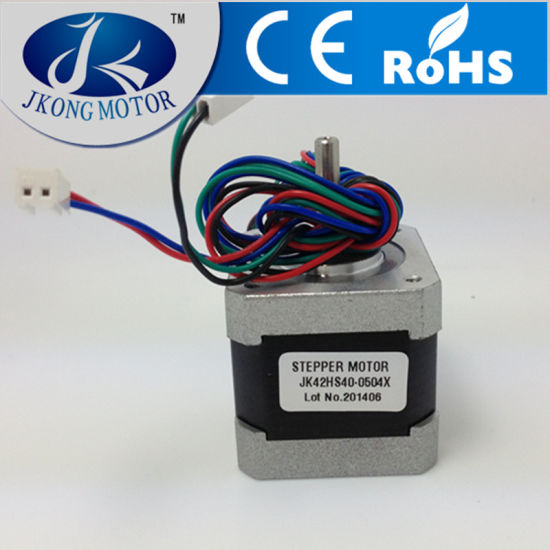 3D Printer Stepper Motor with NEMA17 Size D Shaft with 1 Meter Leading Wires pictures & photos