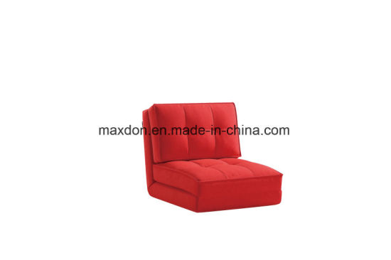 Modern Fabric Folded Single Size Sofa Bed