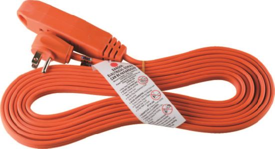 3 Outlets Utility Extension Cord with Flat Plug 06-Ggpt7016