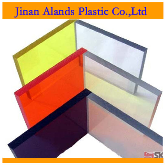 Transparent Colored Cast Acrylic Sheet pictures & photos