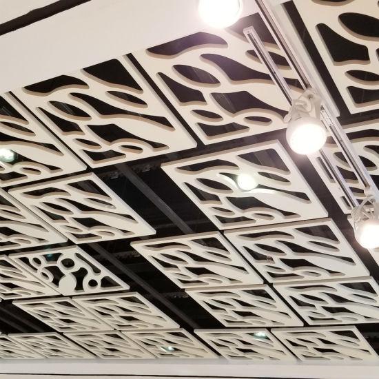 Decorative False Aluminum Square Plate Suspended Ceiling (KH-MC-P22)
