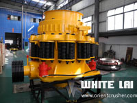 White Lai Stone Rock Cone Crusher for Limestone Granite River Stone Crushing Wlc1300 pictures & photos