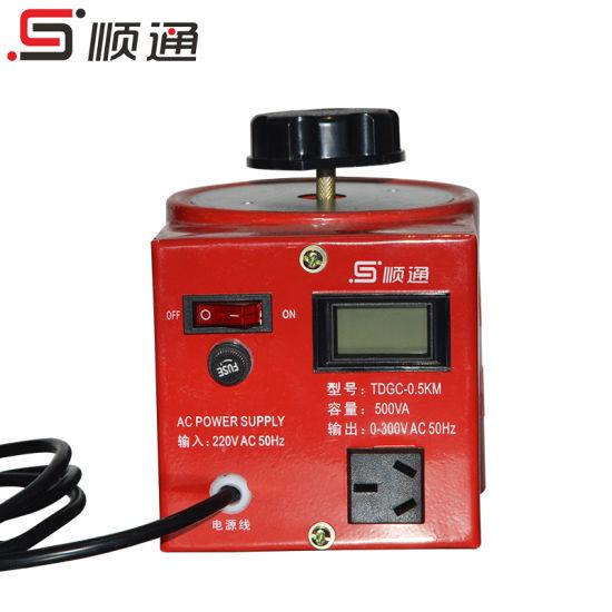 Tdgc Series Variac 0.5kVA/500W Automatic Voltage Regulator