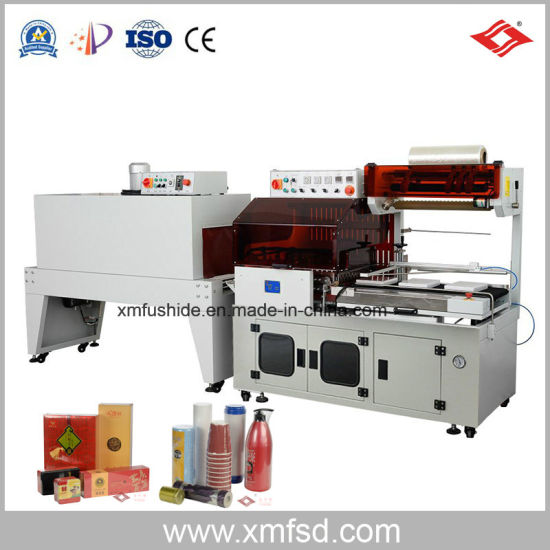 POF Film L Bar Automatic Hot (heat) Sealer Sealing Packing Packaging Packer (Package) Shrink (shrinkable) Shrinking Wrapping (Wrap) Wrapper Machine