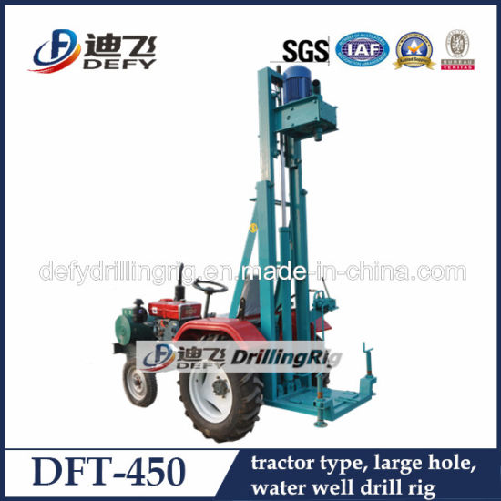 Dft-450 Portable Used Water Well Drilling Rig for Sale