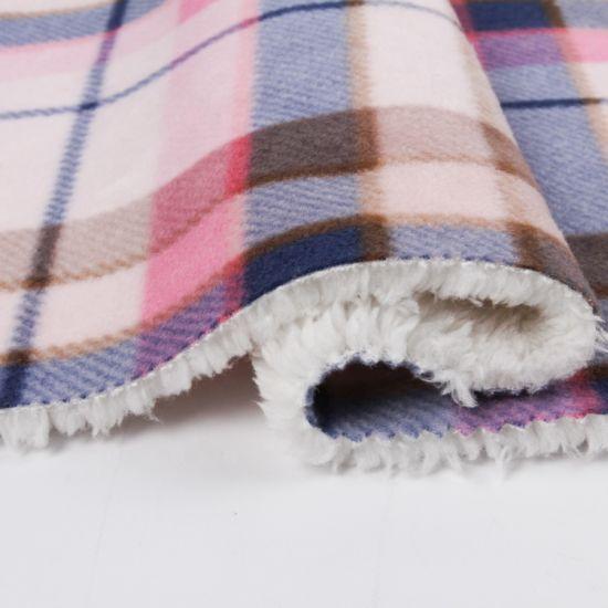 Polyester 300t Polyester Pongee Fabric Bonded Polar Fleece/Waterproof Softshell Fabric