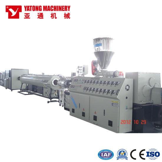 Yatong UPVC CPVC PVC Plastic Pipe Production Machine / Extrusion Machine / Pipe Production Line