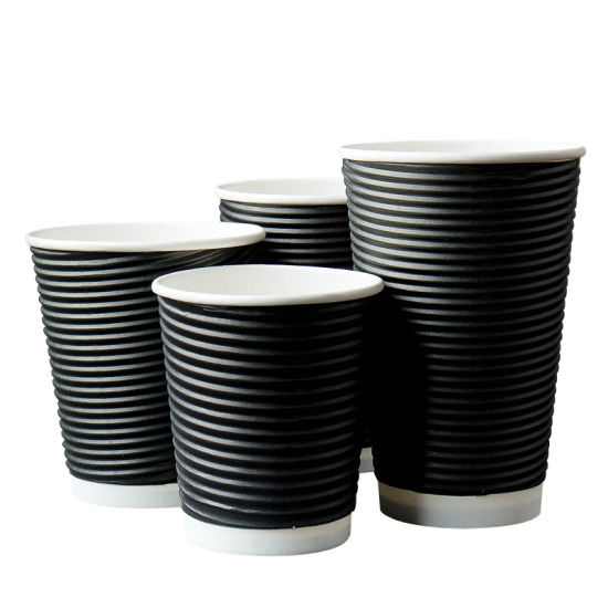Hot and Cold Tea Coffee Drinking Water Kraft Paper Cup with Low Price