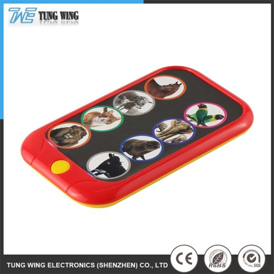 Customized 8 Button Baby Musical Electronic Toy