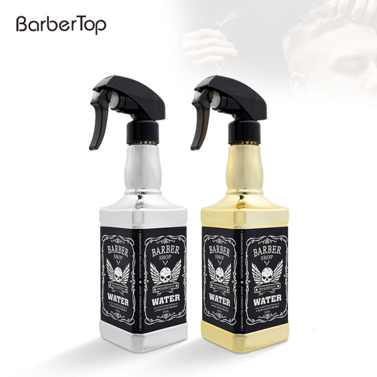 Gold-Plated Silver Plated 500ml Spray Bottle